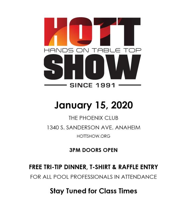 Hott Show 2020 Basic flyer