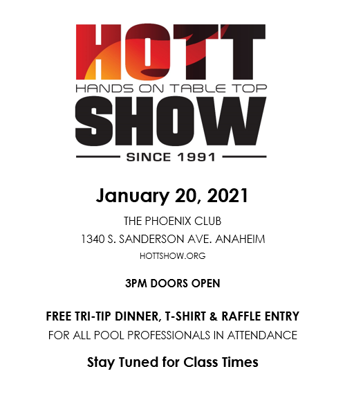 Hott Show 2021 Basic flyer