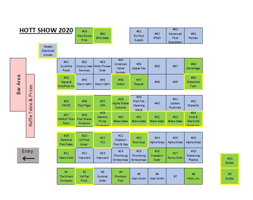Floor Map 11.15.19